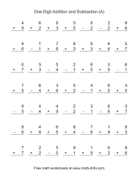 Two Digit Mixed Arithmetic V1 Addition And Subtraction Worksheets ...