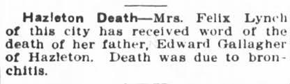 Edward Gallagher obit - Newspapers.com