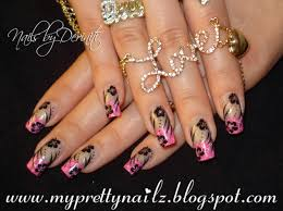 My Pretty Nailz: Bundle Monster Pink French Tips Nail Art Design ...