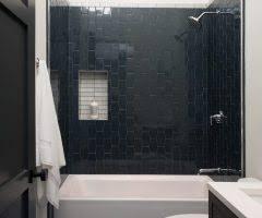 dark blue bathroom tiles. Beautiful Tiles San Francisco Dark Blue Bathroom With Contemporary Mosaic Tiles And  Dramatic Church Street To Dark Blue Bathroom Tiles