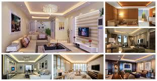 Modern Living Room Lighting Modern Living Rooms With Hidden Lighting Fixtures