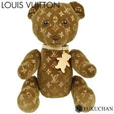 monogram pattern do do teddy bear 500 limited spring of 2005 summer velour x soft