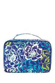 image of vera bradley large blush brush makeup case