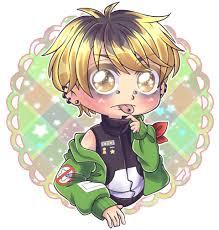 ảnh Anime Boy Chibi Ngầu - Novocom.top