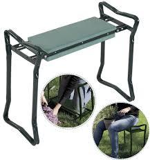 folding sy garden kneeler cushioned kneeling seat cushion folding gardening