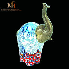 dumbo murano glass animal 15cm 5 9 inch