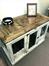 diy dog crate table dog cage furniture fabulous side table dog kennel side table plans side