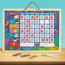 Infilm Boys And Girls Good Habit Record Table Child Growth