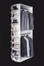 double hang spinning closet organizer