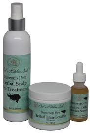 Amazoncom Beaucoup Hair 3 Step Herbal Hair Regrowth System For