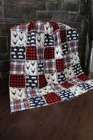 Best 25+ Rag quilt ideas on Pinterest | Rag quilt instructions ... & Rag Quilt, Cabin Quilt, Plaid, Deer Throw,Red And Black Plaid, Adamdwight.com