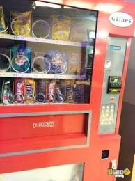 Vending Machines For Sale Ny Impressive Gaines GO48 Snack Soda Combo Vending Machine For Sale In New York