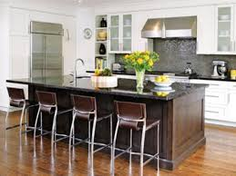One Wall Kitchen Designs With An Island Galley Kitchen With Island - One wall kitchen designs