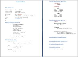 Modelo De Curriculum Vitae En Word Curriculum Vitae Europeo Da Compilare Gratis Formato Word Medipro