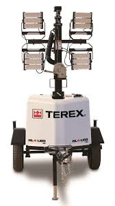 Terex Corporation Terex Rl4 Led Gas Powered Light Tower In