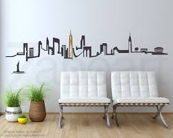 new york city skyline perfect wall decal city skyline