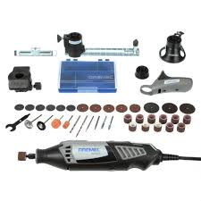 dremel tool bits. dremel 4000 series 1.6 amp corded variable speed high performance rotary tool kit with 36 accessories bits -