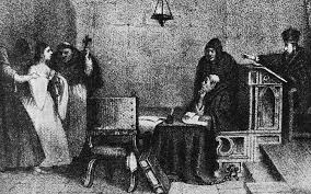 when the spanish inquisition expanded to the new world the times a hearing before the inquisition engraving by mexican artist constantino escalante