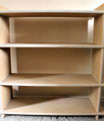 diy sliding bookshelf doors