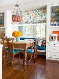 image breakfast nook september decorating. Joyful Kitchen Image Breakfast Nook September Decorating