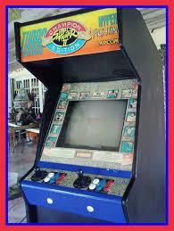 street fighter arcade machine vintage works video game gaming