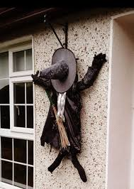 Witch Decorating Fascinate Halloween Witch Decorations For Outdoors The