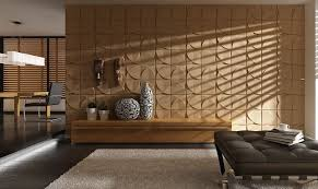 modern eco friendly bamboo fiber restaurant wall coverings 3d decorative wall panels