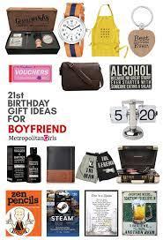 21st birthday gifts for your boyfriend