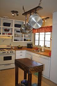 rustic kitchen island:   x