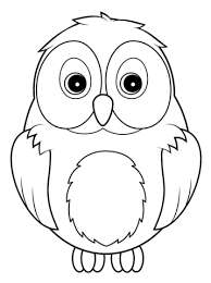 Small Picture Cute Owl coloring page Free Printable Coloring Pages