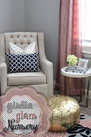 Navy And Pink Bedroom A Little Of This A Little Of That Pink Gold Navy Nursery