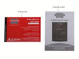 Bếp Điện Từ Sunhouse SHD6800 cảm ứng - Giá bán tốt