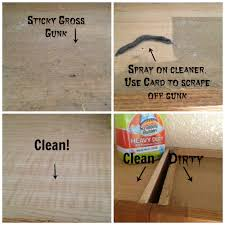 brilliant decoration best way to clean wood kitchen cabinets how the tops of greasy secret tip my