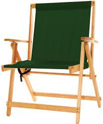 xl deck chair forest green