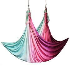 Wellsem Aerial Yoga Hammock 5 5 Yards Aerial Pilates Silk