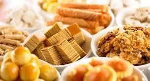 chinese new year goodies calories chart chinese new year goodies calorie guide