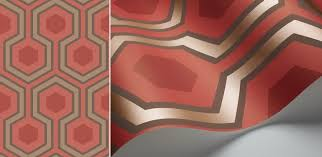 hick grand wallpaper the shining hexagon carpet
