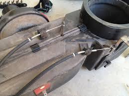 mustang heater blower motor cage 1965 1968 installation mustang heater blower motor cage install image