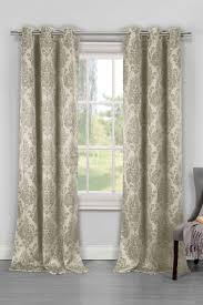 Lush Decor Lake Como Curtains Phelan Heavy Blackout Grommet Panel Curtains Set Of 2 Taupe By