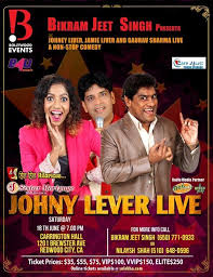 Johny Lever Live With Gaurav Sharma And Jamie Lever In