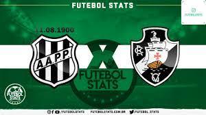 Saiba mais sobre Ponte Preta x Vasco - Campeonato Brasileiro Sub-20 -  Futebol Stats