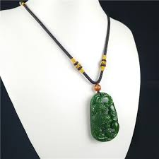 green jade tiger pendant necklace gifts