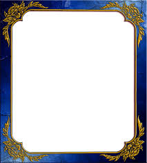 blue photo frame with corner resolution 1325 x 1467 size 1 13 mb format png