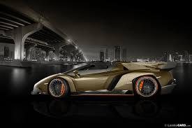 Lamborghini Veneno Roadster gets imaged in all colors Photos | New ...