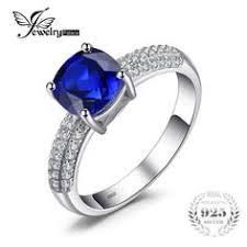<b>JewelryPalace Created Blue Sapphire</b> Engagement Princess Diana ...