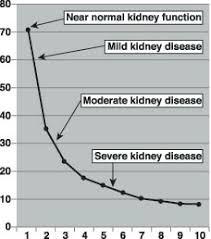 Kidney Creatinine Chart Kidney Disorder Creatinine