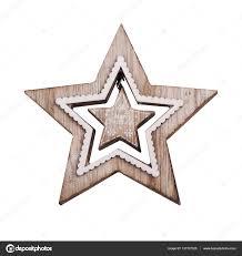 Weihnachtsstern Dekoration Aus Holz Stockfoto Irinabort