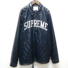 RAGNET | Rakuten Global Market: Supreme Supreme Coaches Quilted ... & Supreme Supreme Coaches Quilted Jacket quilted coach jacket / Navy Navy  Navy / size: L Adamdwight.com
