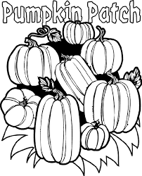 Small Picture Large Pumpkin Coloring Page Printable Pumpkin Coloring Pages