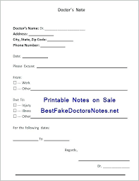Download Fake Doctors Note Fake Doctors Note For Work Luxury Download A Good Excuse